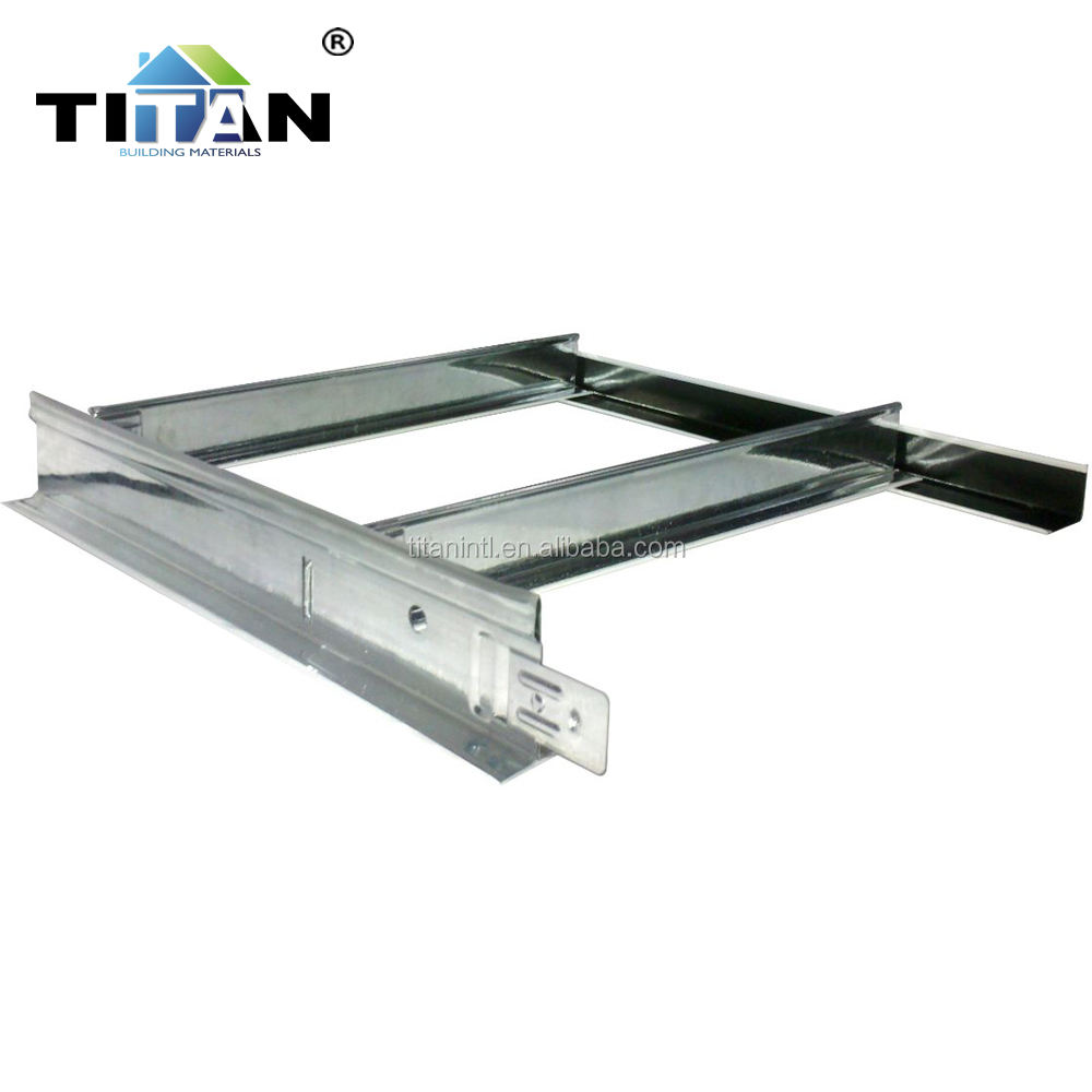 2020 Hot Sale Galvanized Steel Flat Suspended Ceiling T Bar