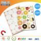China manufacturer cute magnetic premium puffy stickers
