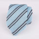 Mens Stripe Wholesale Polyester Knitted Necktie