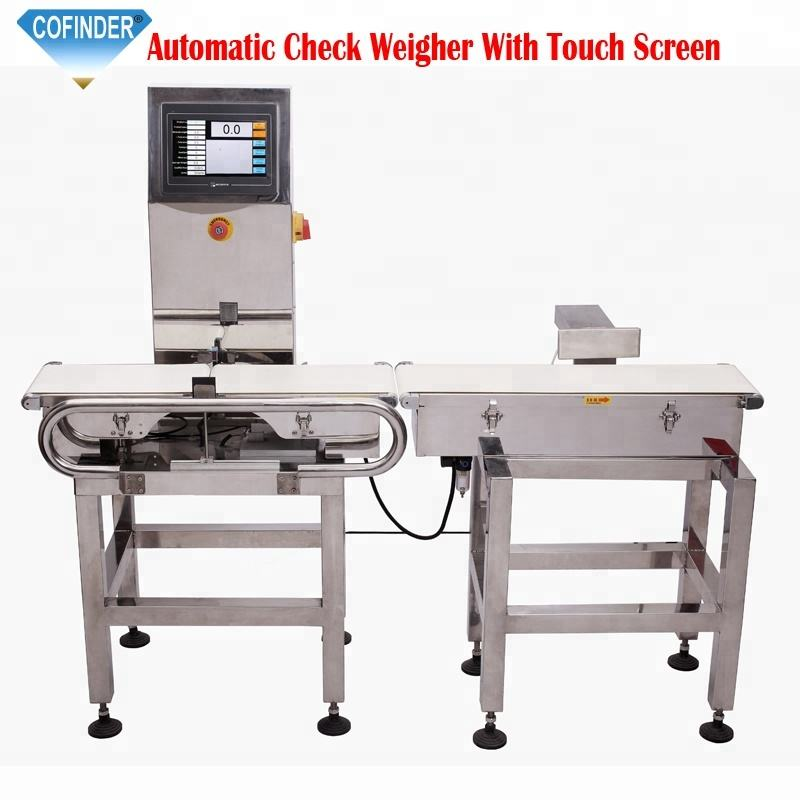Cofinder W220 (high) 저 (speed 온라인 자동 conveyor belt checkweighers