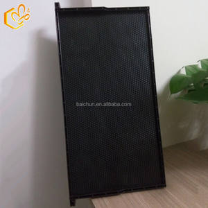bee keeping high quality plastic beehive frame black hive frame for langstroth