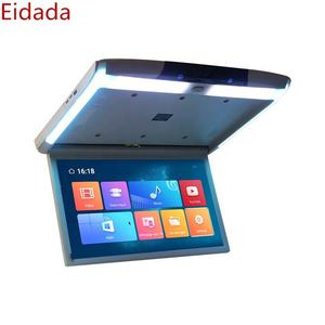 Eidada-1799AD Dell'automobile da 17.3 pollici Flip Down Soffitto TV Montare Monitor con MP5 Android 8.1 del Sistema 1.5 + 16G