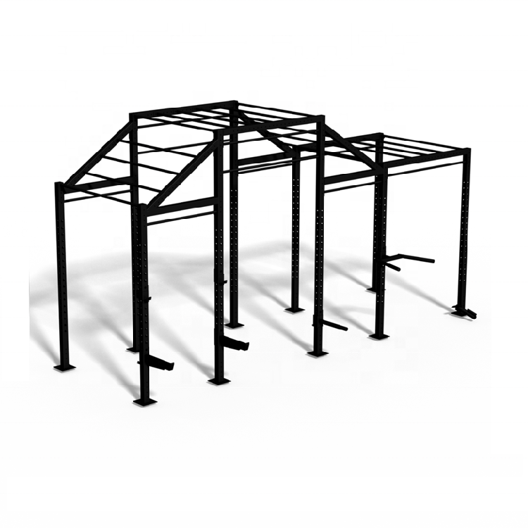 Multifunctional Commercial Fitness Equipment Pull Up Station Cross Fit Rig