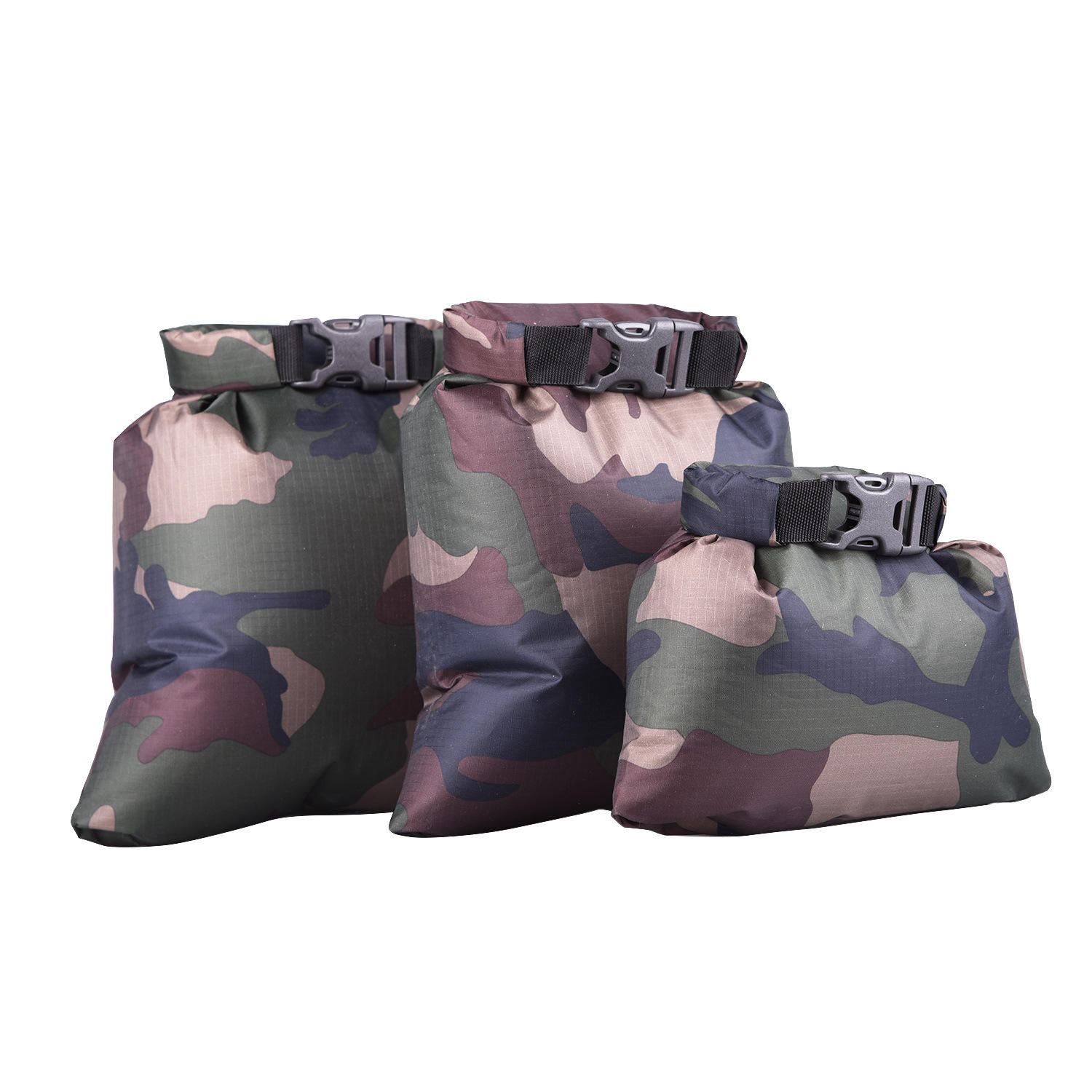 3 stuks outdoor opslag dry bag set gerecycled tpu dry bag