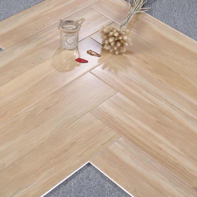 Promotional wooden tile 150*800 large quantity in stock for floor and wall MOQ:3 container