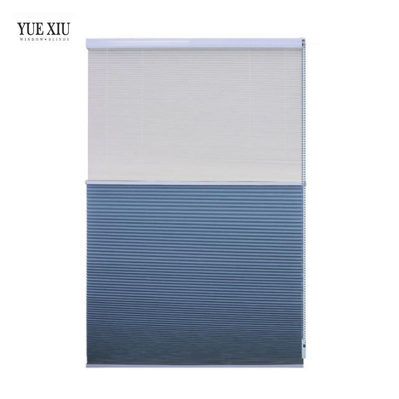 Good quality Shades Double Window Day Night Industry Honeycomb Blinds