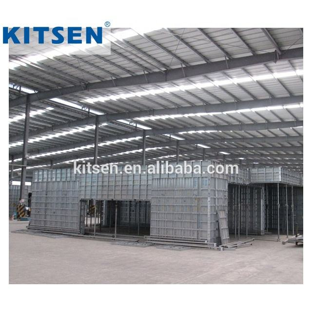 All Aluminum Concrete Wall Forming Systems