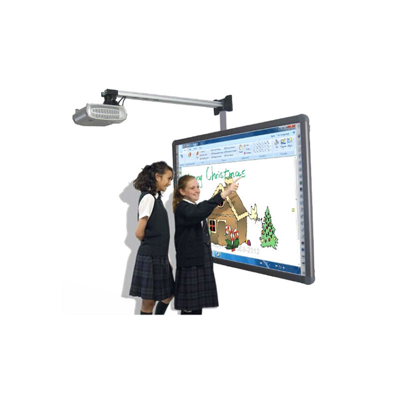 Electronic message boards for schools 104 inch Digital interactive whiteboards