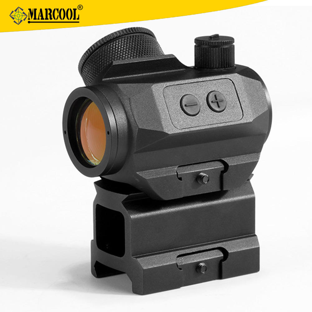 Marcoo 1x21Tritium Armi di Importazione Airsoft Tactical Guns Red Dot Sight Lens
