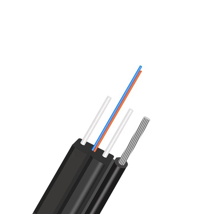 Outdoor Drop Cable 4 Fiber Optic Cable
