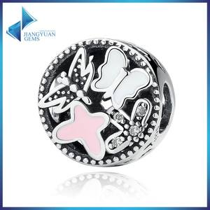 China Wholesale Latest Style Silver Beads Charms