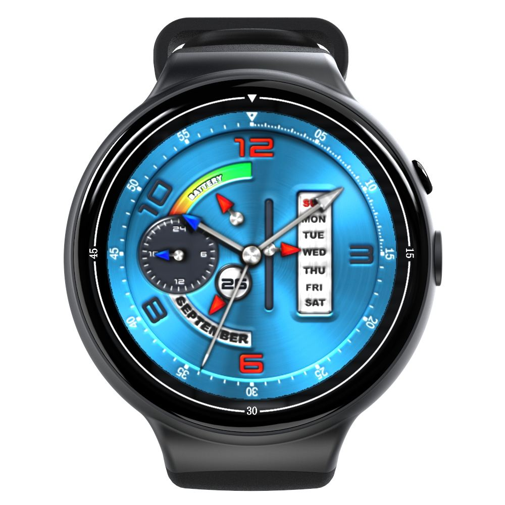 WIFI 3G I4 Air Smart Watch GPS watch phone support Voice control Heart Rate camera smartwatch phone for Android 5.1 2GB +16GB