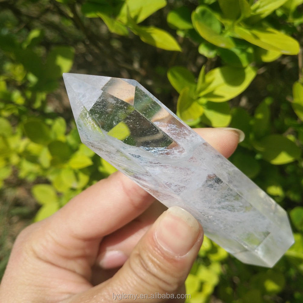 Wholesale natural twinkling citrine quartz crystal points/wands
