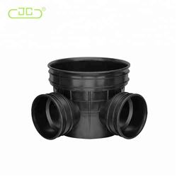 OEM Black Plastic PP/PE Drainage Inspection Well