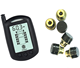 Auto Truck TPMS Car Wireless Tire Pressure Monitoring System with 6 External Sensors Replaceable Battery LCD Display