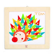 Hape Wooden Painting Toy / Arts & Crafts / DIY Game Hedgehog