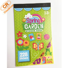 Custom Printed Decoration Die Cut Wholesale Sticker Book For Children