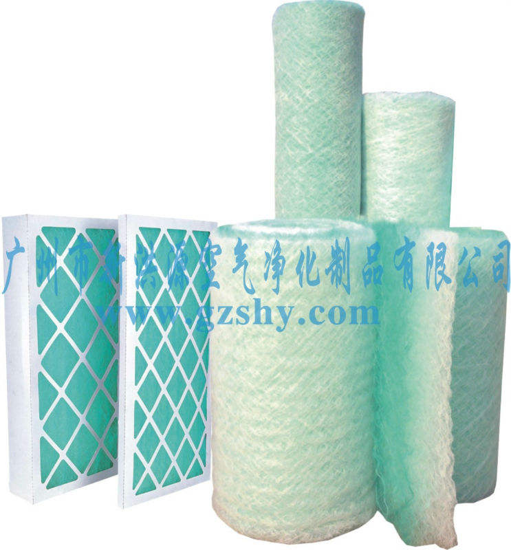 Spraying Booth Fiber Glass Floor Filter PA-50
