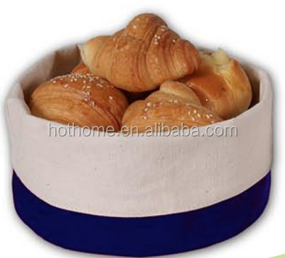 2019 Hot Sale High Quality Cotton Linen Bread Basket