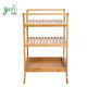 3 tier Bathroom Storage And Organization Bamboo Shelf