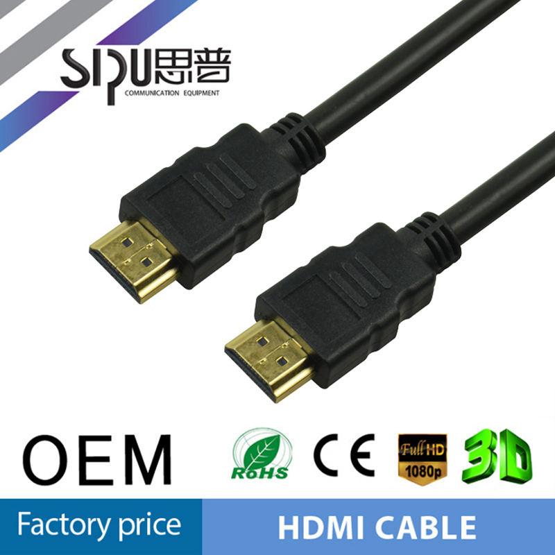 SIPU cavi ad alta velocità prezzo 24 K gold-plated del connettore di rame 1.4 cavo hdmi