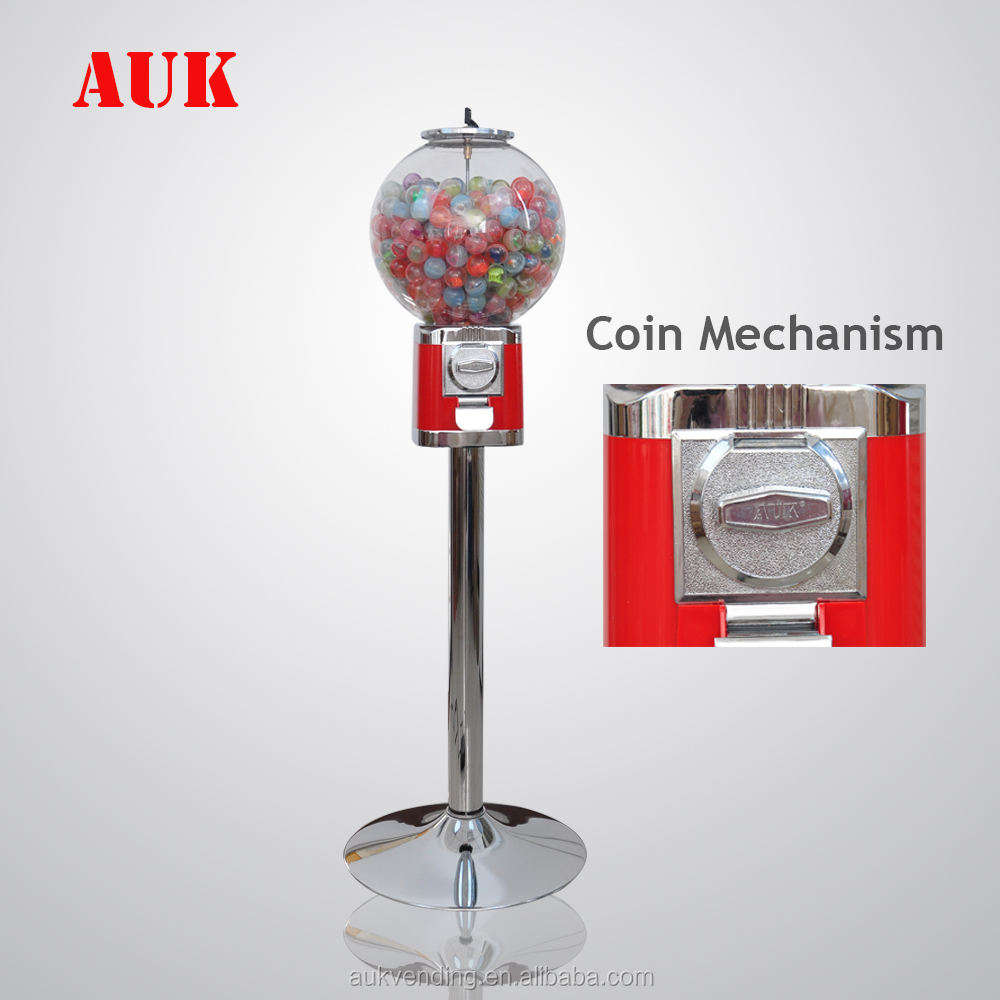 2018 hot product capsule toy candy gum ball bouncy ball toy vending machine with stand