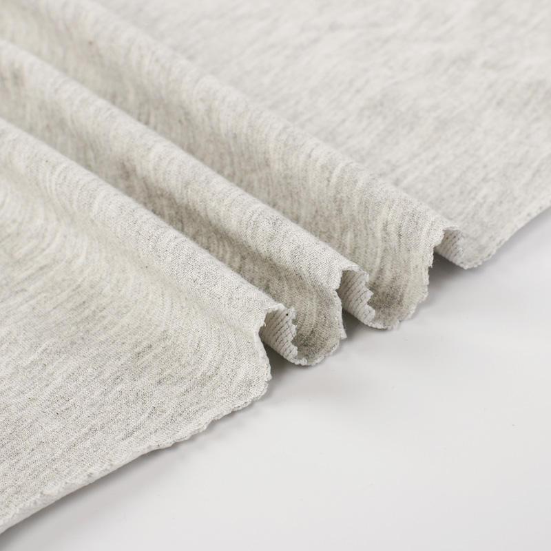 65% poliéster 35% algodón t/c 65/35 de punto de rizo francés
