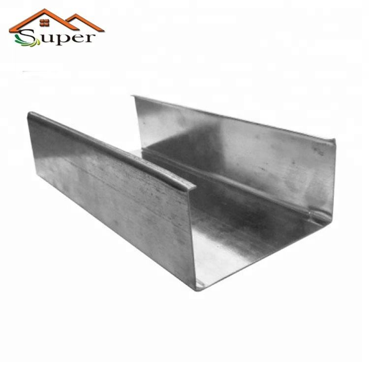High Quality Galvanized Steel C Channel Specification With UL Certification