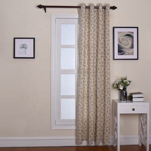 Leaves curtains living room window drapes decorations outdoor balcony curtains