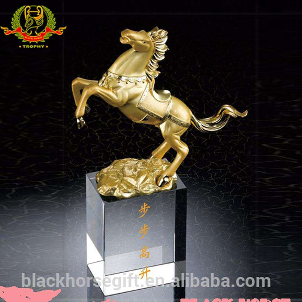 Pretty Horse Trophies and Horse Decoration Award