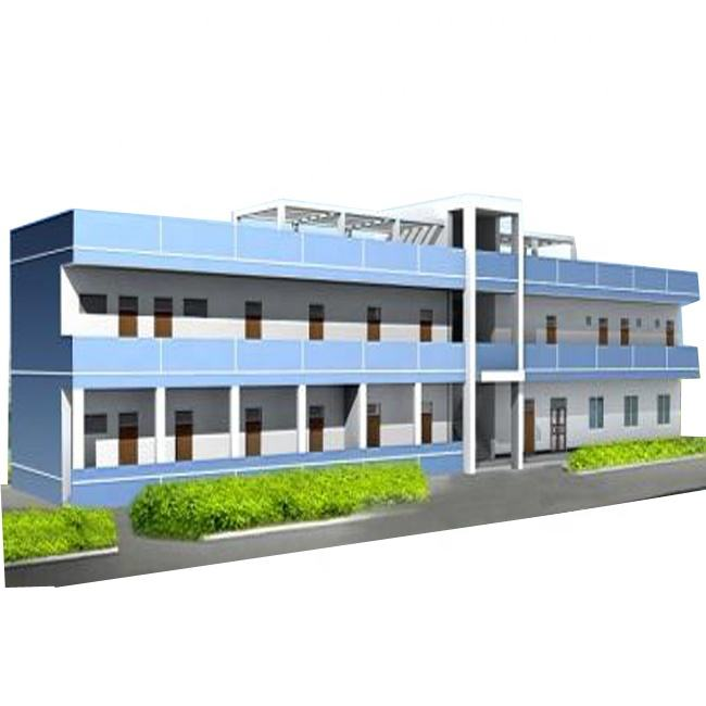 light type industrial construction Low Cost Prefabricated Warehouses Steel Structure