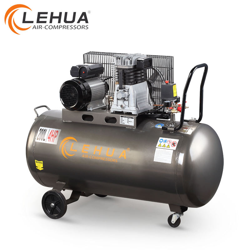 Lehua Profesional Membuat CE & ISO Italia Portable Screw Air Compressor