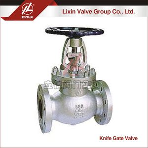 Cheap price ANSI CF3M bellow seal globe valve wholesale