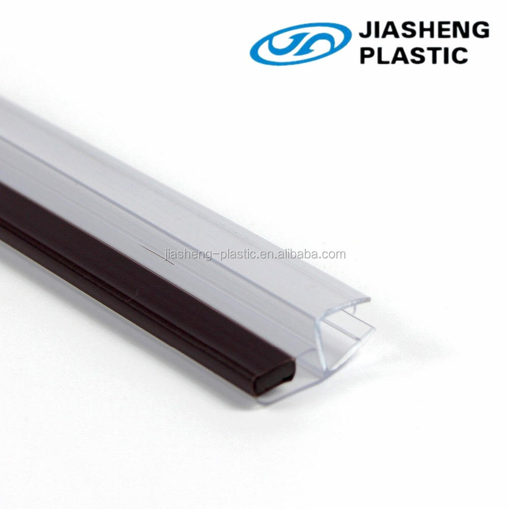 Pvc Door Sealing Strip Top Quality Extruded Magnetic Pvc Strip Rubber Sealing Strip For Glass Door