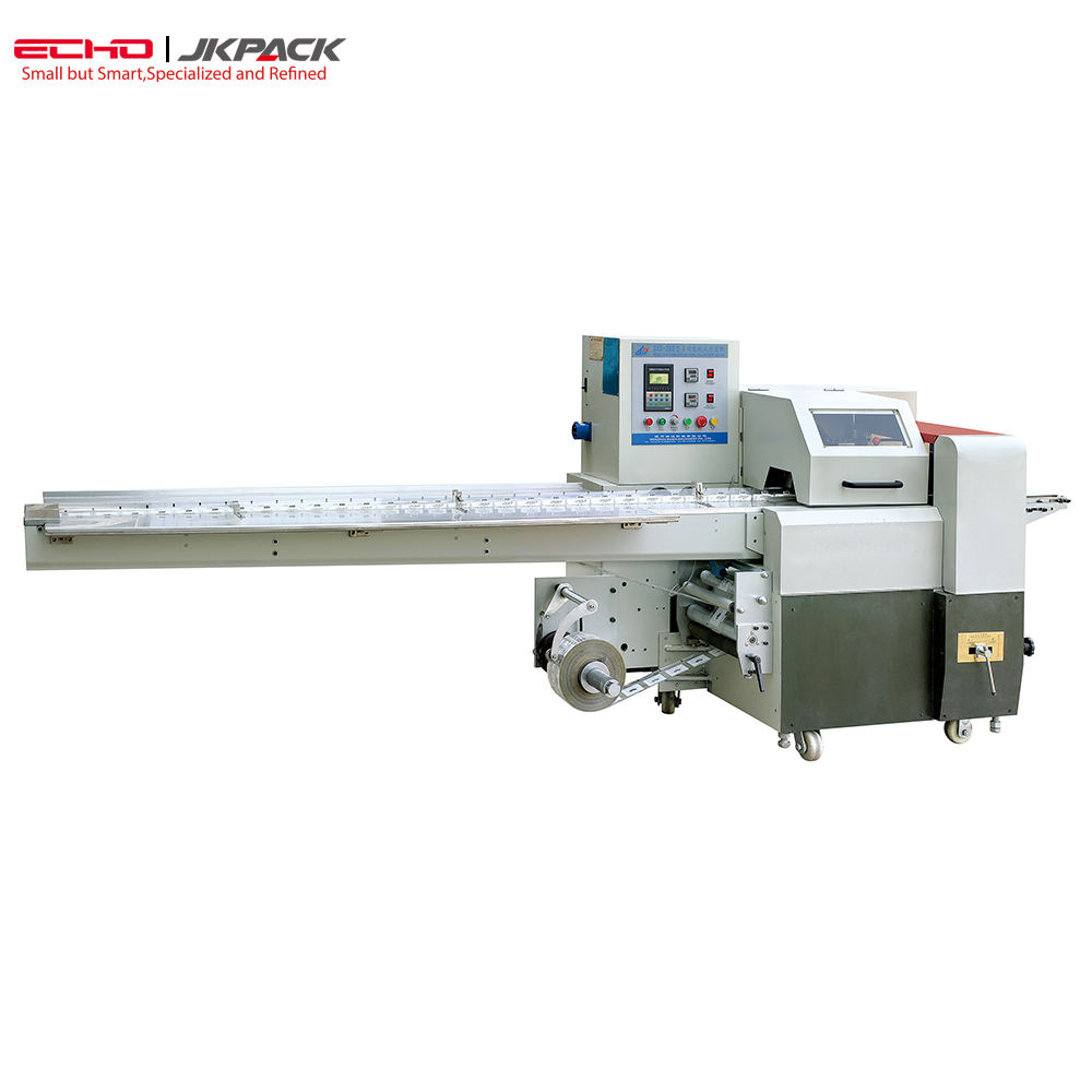 Hot Sales Automatic Pillow Packing Flow packaging Machine for knife and spoon JY-280