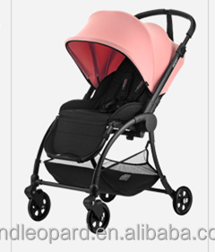 purple concise baby stroller with multi-function complied with EN1888:2012 new design buggy for baby care in high quality
