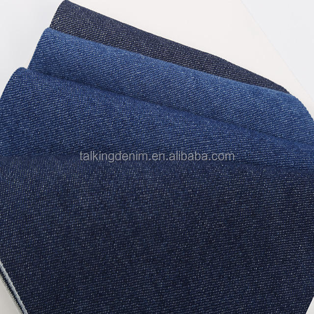 Factory direct sale types of organic fabric 100 cotton light heavy shiny type denim embroidery fabric lahore for jeans