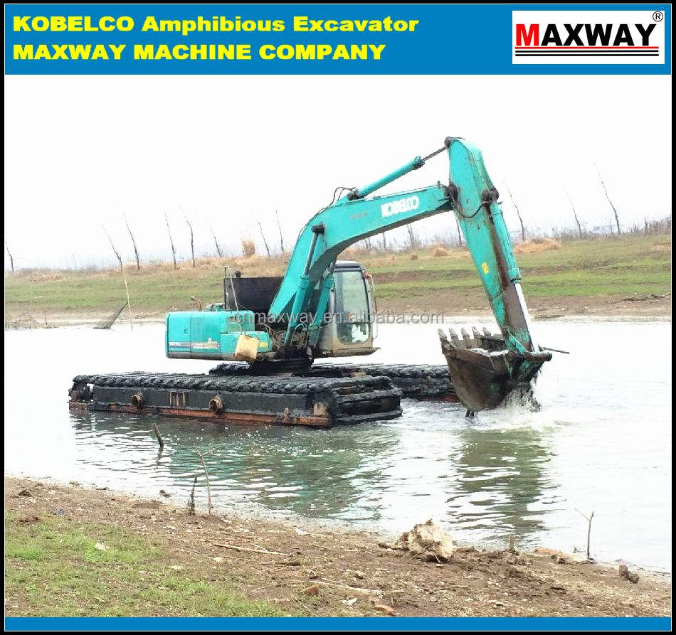 MAXWAY Cheap Price KOBELCO SK200 Swamp Excavator for sale , CE , ISO, EPA , SGS , Model: MAX200SD