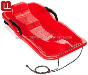 Mellow Plastic snow sled for adults
