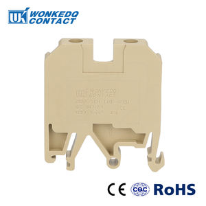 Jsak 6EN Weidmuller Din Mount Terminal Blocks Screw Connection