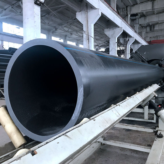 1000mm large diameter plastic tube hdpe water drain pipe