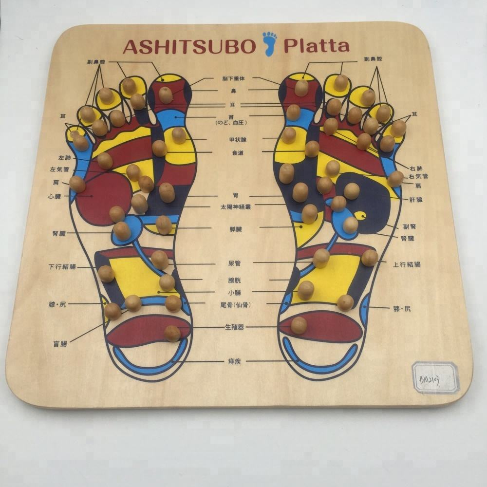 wooden wooden mssager foot massage board