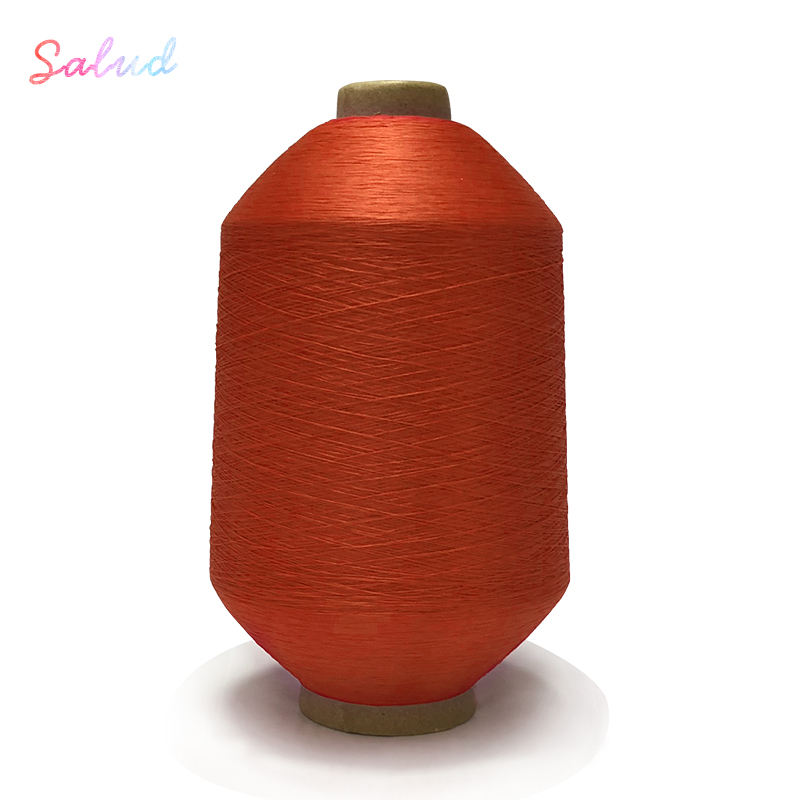 2020 Popular dope dyed wholesale sock yarn dty 150D standard fabric polyester knitting yarn Sewing Thread