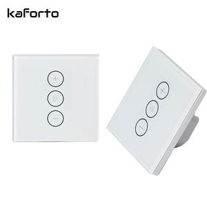 Mobile Remote Control Smart Life UK EU 86mm Smart Wi-Fi Touch Wall Dimmer Switch