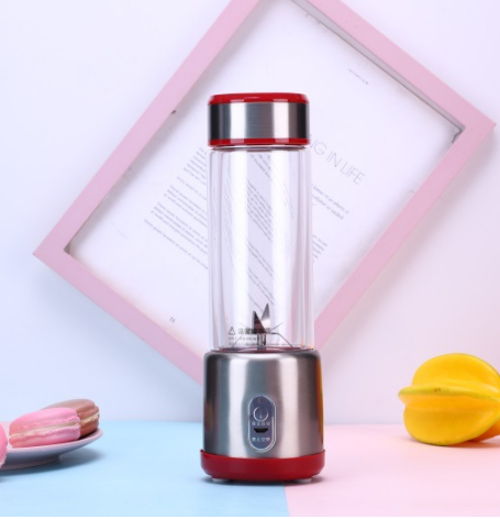 6 Blades In 3D With Stainless Juicer Cup ,Travel Portable Blender Usb Rechargeable Battery Juice Blender