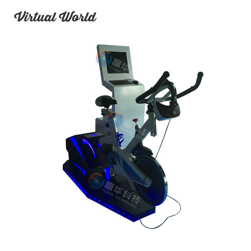 Hot Entertainment 9D VR Bike Racing Simulator Sport Oefening Simulator VR Bike Racing Game Virtual Reality Hometrainer