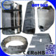 Custom Removable Covers of Insulation for plastic injection machine, pipes, valves, flanges