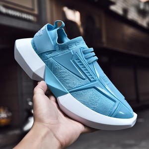 Custom wholesale casual shoes comfortable Plastic outsole walking shoes