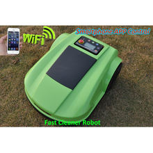 NEWEST SMARTPHONE WIFI APP Control lawn mower mud tires/Automatic Robot Lawn mower