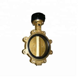 C95800 Wafer Lug Type Engine Marine Bronze Concentric Butterfly Valve